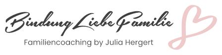 Ein Logo von BindungLiebeFamilie